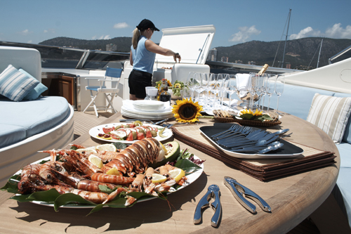 how to become a chef on a yacht
