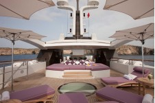 Charter Yacht ST DAVID -  Sundeck looking forward