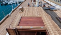 Charter yacht CHRONOS by ARK Yachts - deck