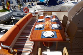 Charter yacht DOLCE VITA - Aft Deck