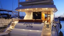 Charter yacht DOLCE VITA - Aft View