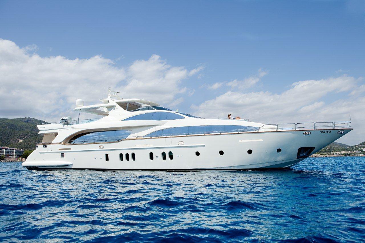 itaca club yacht charter details azimut grande 116. Black Bedroom Furniture Sets. Home Design Ideas