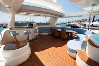 Charter yacht ITACA CLUB -  Flybridge