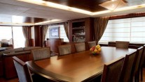 Charter yacht ITACA CLUB -  Formal Dining