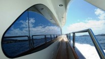 Charter yacht ITACA CLUB -  Side Deck