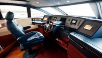 Charter yacht ITACA CLUB -  Wheelhouse