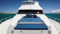 Charter yacht RESTLESS - Fordeck
