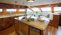 Charter yacht RESTLESS - Galley