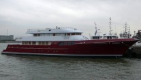 Cheoy Lee constucted superyacht Mazu
