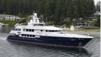 Christensen super yacht DNatalin IV (Project C-2014) in Gig Harbour, Washington