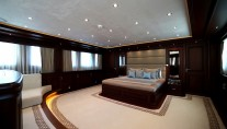 Clarity superyacht maindeck forward owners suite