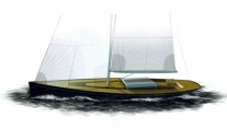 Classic Sloop Tulip designed by German Frers