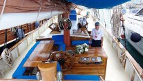 Classic Tall Ship RHEA -  Al Fresco Dining and Deck
