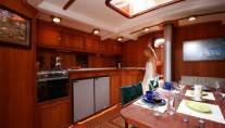 Classic Yacht ANITTA -  Dining and Galley