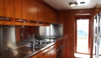 Classic Yacht HATHOR -  Galley