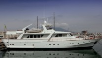 Classic Yacht HATHOR -  In Port