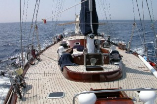Classic Yacht Lady Sail -  Deck