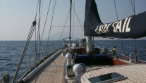 Classic Yacht Lady Sail -  On Deck