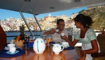 Classic Yacht NAFISA -  Relaxing on charter