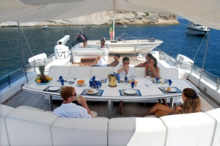 Classic Yacht NAFISA -  Sundeck Dining