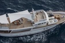 Classic Yacht SULTANA -  From Above