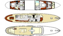 Classic Yacht SULTANA -  Layout