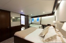 Classic Yacht SULTANA -  Master Cabin View 2