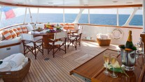 Classic Yacht THE HIGHLANDER -  Aft Deck