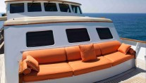 Classic Yacht THE HIGHLANDER -  Foredeck