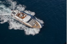 Classic yacht DUNE -  From Above