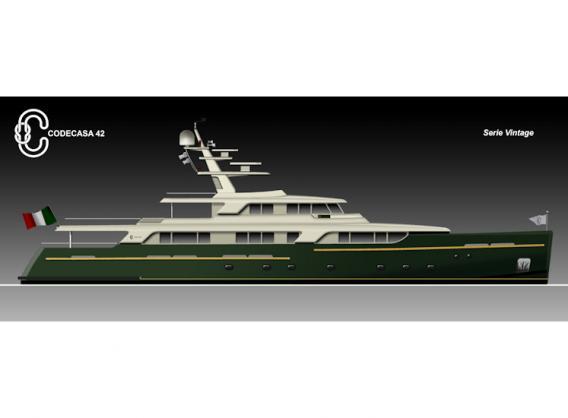 Motor Yacht Hull F.75