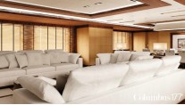 Columbus 177 Yacht Prima by Palumbo shipyard - Interior by Spadolini Studio Design - Main Salon