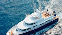 Columbus 90 motor yacht Belle Isle - a Kingship charter yacht