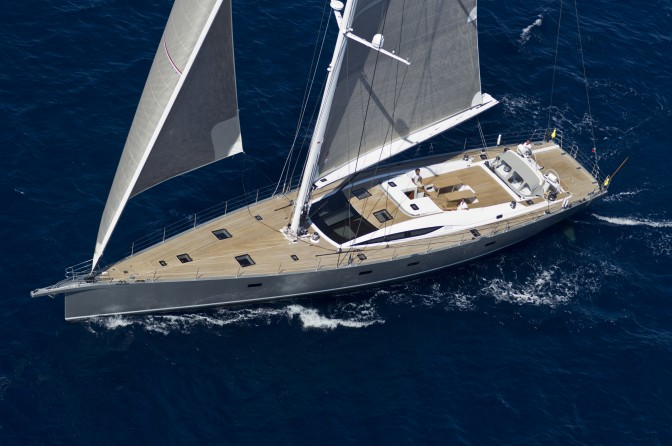 Sailing Yacht Shadow