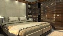 Comfortable cabins aboard Rahil yacht