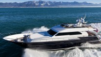 Continental II 23.00 Flybridge Yacht - side view