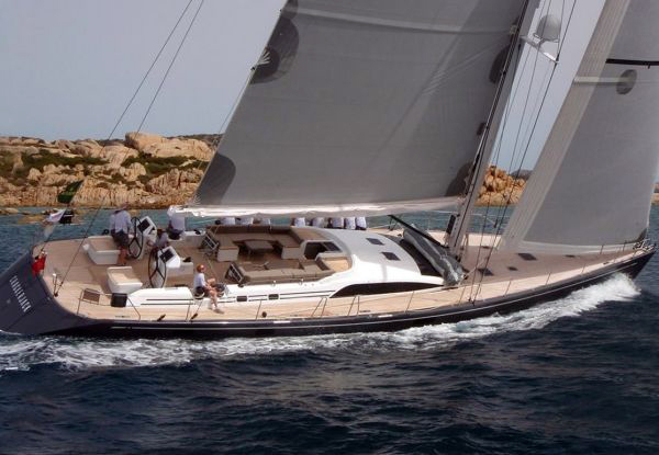 Sailing yacht Crackerjack