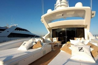 Crazy Too -  Aft Deck