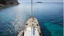 Cruising with ROTA II yacht