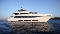 Curvelle QUARANTA superyacht - profile