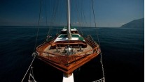 DERIYA DENIZ - Foredeck and bow