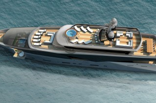 DU Voyager 50 Yacht from above