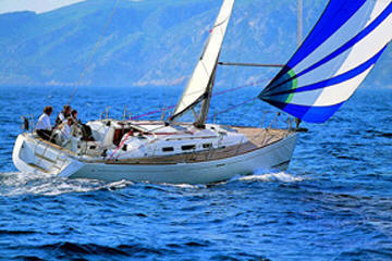 Dufour 44 sail boat