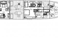 Darsea -  Below deck layout