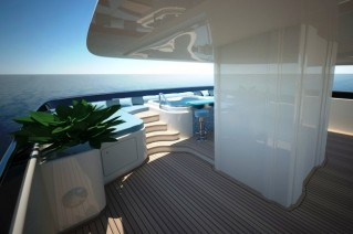 Delta Marine Motor Yacht MONARCH Top deck