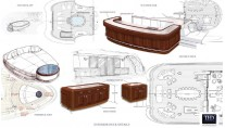 Detailed Drawings of the Cakewalk interior - exterior