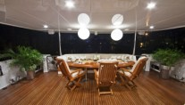 Diamond Girl -  Aft Deck at Night