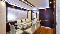 Dominator 860 Yacht -  Formal Dining