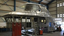 Drettmann DEY 24 Yacht taking shape