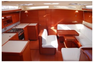 Dufour 525 - Galley view